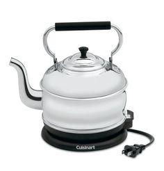Cuisinart Retro Classic Traditional Cordless 1-3/4 Quart Electric Kettle RK-17