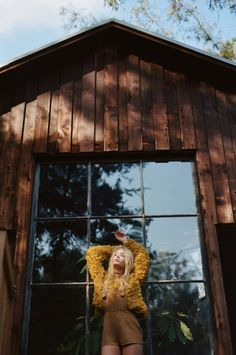 """Fleetwood Canyon"" Fall Knitz collection 2015 photography Henrik Purienne model Camilla Christensen"