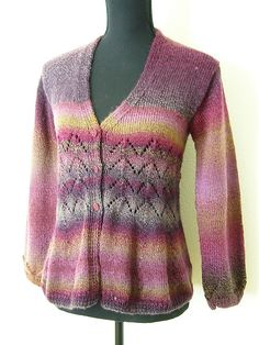 Knitted this cardigan for myself