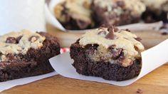 Homemade Chocolate Chip Brownie Cookies Divas Can Cook - Brownie - Yorgo Brownie Cookies, Chocolate Chip Cookie Brownies, Homemade Chocolate Chip Cookies, Chewy Brownies, Chocolate Crinkles, Chocolate Chip Recipes, Mini Chocolate Chips, Brownie Recipes, Cookie Recipes