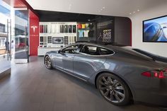 Tesla showroom by MBH Architects, Los Angeles – California » Visit City Lighting Products! https://www.linkedin.com/company/city-lighting-products