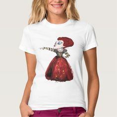Alice in Wonderland - The Red Queen   Off with his Head 2. Producto disponible en tienda Zazzle. Vestuario, moda. Product available in Zazzle store. Fashion wardrobe. Regalos, Gifts. #camiseta #tshirt