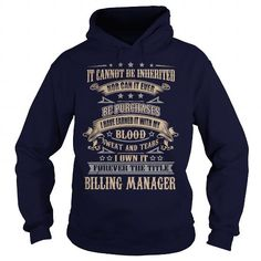 Billing Manager T-Shirts, Hoodies (39$ ==► Order Here!)