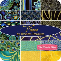I love this collection of fabrics for quilting! I feel a bedroom makeover coming on...