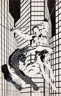 Comic Book Artists, Comic Artist, Comic Books Art, Frank Miller Daredevil, Daredevil Art, Frank Miller Art, Spiderman, Batman, Marvel Comics Superheroes