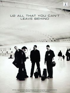 U2 (All That You Can't Leave Behind)