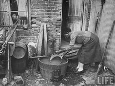 Taking in Laundry during the Great Depression