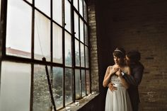 Vintage Industrial Chicago Wedding at Salvage One | Rachel Gulotta Photography