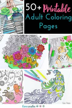 Looking for free printable coloring pages? Check out 50+ Adult Coloring Book Pages and get coloring today!