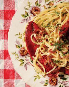 Spaghetti Homard-Lobster - Lucky Peach
