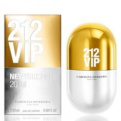 Купить Carolina Herrera 212 Vip New York Pills за 2170 руб #CarolinaHerrera #духи #парфюм #парфюмерия Томный, игривый, соблазнительный аромат, который привлекает внимание необычным и довольно смелым сочетанием нот. Это настоящая находка для стильных молодых девушек, которые хотят подчерк