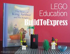 LEGO® Education BuildToExpress Kits. This lookalike a great way to excite boys about learning.