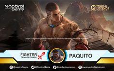 Build Paquito Tersakit yag merupakan hero dengan role Fighter, Hero ini katanya terinpirasi dari seorang petinju legendaris Manny Pacquiao dari Filipina. Mobile Legends, Manga, Movie Posters, Movies, Fictional Characters, Films, Manga Anime, Film Poster, Manga Comics