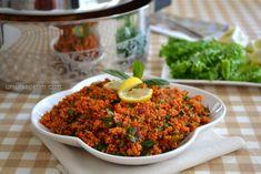 Kısır tarifi Turkish Recipes, Ethnic Recipes, Salad Recipes, Healthy Recipes, Power Salad, International Recipes, Food Design, No Cook Meals, Food Hacks