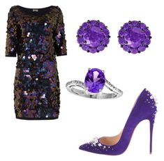 """""""Untitled #83"""" by tjgiradze on Polyvore featuring Christian Louboutin and Color My Life"""
