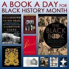 A Book a Day for Black History Month