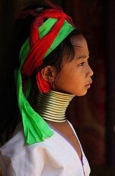 #Thai girl #scarf style