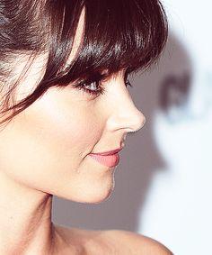 She has an adorable profile.
