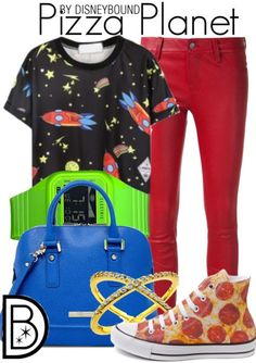 """Get the look!The""""Rocket Stars"""" tee is available at Choies!"""