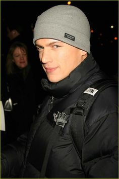 Wentworth Miller (Chris Redfield) from Resident Evil Afterlife.He also played Michael Scofield in Prison Break.