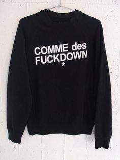 SSUR Comme Des Fuckdown Crewneck Sweater