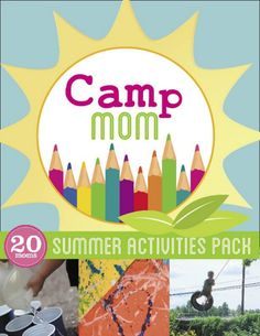 Summer activities pack - full of fun for kids and the whole family!