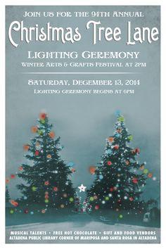 Christmas Tree Lane Association, Altadena California