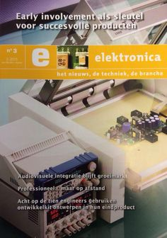 early involvement is one of our smart solutions, read the latest edition of elektronica magazine by mybusinessmedia!