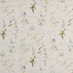 Botanical Gardens Curtain Fabric