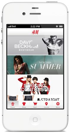 h iphone app concept