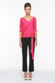 this DVF blouse....