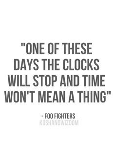 foo fighters lyrics :)