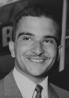 Crown Prince Hassan bin Al Talal, brother of King Hussein of Jordan. The 18 year old Prince is studying at Oxford University in April 1965