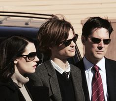 Prentiss, Reid, and Hotch