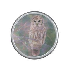 Barred Owl Pastel Oilpainting Bluetooth Speaker  Barred Owl Pastel Oilpainting Bluetooth Speaker      $44.40   by  Tannaidhe  http://www.zazzle.com/barred_owl_pastel_oilpainting_bluetooth_speaker-256541626546340101    - - - Take a look at lots more designs at Tannaidhe's designs on Zazzle!  http://www.zazzle.com/tannaidhe?rf=238565296412952401&tc=MPPin