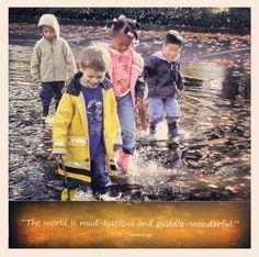 Great E.E. Cummings quote #nature #fun #children