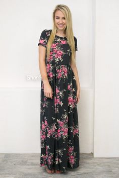 Stay Sweet Pocket Maxi Dress