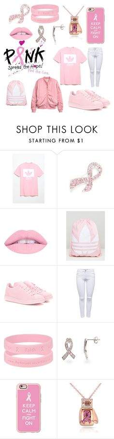 """Fight like a girl"" by didipink on Polyvore featuring adidas, Napier, adidas Originals, Casetify and Kobelli"