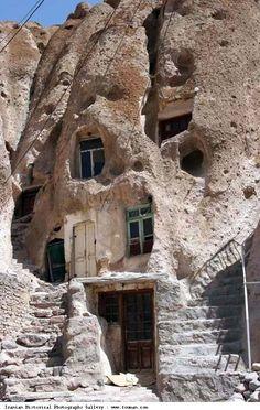 Kandovan Village Tabriz Stairs