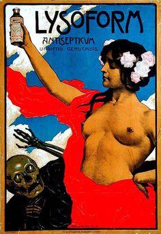 Lysoform - Ferdinand Schultz Wettel / graphic art looted by the Nazis in 1938