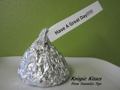 Krispie Kisses...for kid lunches or a play date.