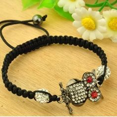NWOT adjustable Owl Bracelet This is brand new and comes in packaging. Jewelry Bracelets