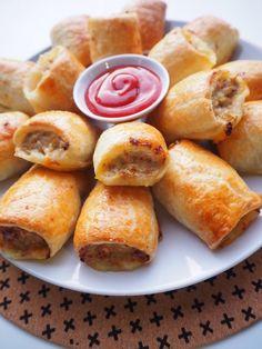 Pork and Apple Sausage Rolls