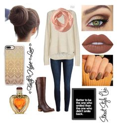 """""""Untitled #88"""" by aderr03 ❤ liked on Polyvore featuring ONLY, Aéropostale, Timberland, Lime Crime, Casetify, Victoria's Secret and Americanflat"""