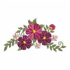 Sweet Heirloom Embroidery Design Pack: Flower Beauties