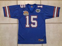 Rare AUTHENTIC NIKE Florida Gators  15 2007 TOSTITOS Jersey Men s Small d4162a95a