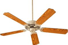 "Quorum International Q77525 Capri I 52"" 5 Blade Hanging Indoor Ceiling Fan with Aged Silver Leaf Fans Ceiling Fans Indoor Ceiling Fans"