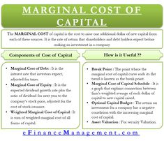 Marginal Cost of Capital Meaning Uses And Accounting And Finance, Accounting Notes, Accounting Classes, Accounting Basics, Accounting Course, Accounting Student, Investing Money, Saving Money, Money Management