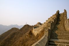 Great Wall of China. Can't wait to go here!