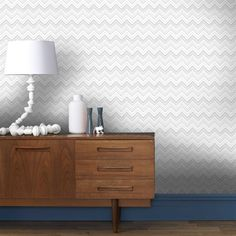 Chevron Grey Wallpaper by Graham and Brown